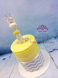 giraffe baby shower cake giraffe baby shower cake cake by alana chocolates cakes