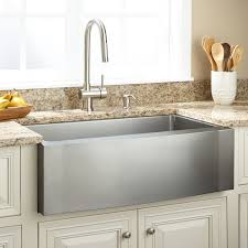 kitchen with apron sink 33