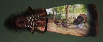turkey feather painting 11 28 featured artist carol jones the feather artist
