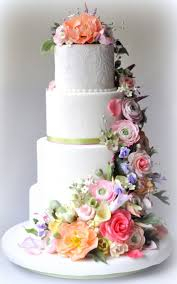wedding cake flower flowers on wedding cake idea in 2017 wedding