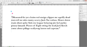 quote marks before comma hanging punctuation in indesign and illustrator design tip of