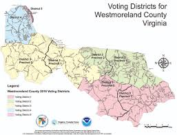 Northern Virginia County Map by Westmoreland News Montross Va Northern Neck Stratford