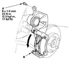 2003 honda civic brake pads i am replacing the brake pads on a 2007 honda civic hybrid