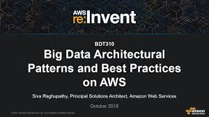 Architecture Practices Aws Re Invent 2015 Bdt310 Big Data Architectural Patterns And
