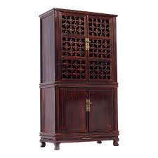chinese kitchen fretwork cupboard or armoire for sale at 1stdibs
