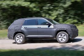 volkswagen suv 3 rows 2017 volkswagen suv is larger than touareg digital trends