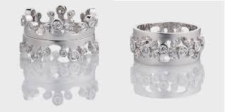Crown Wedding Rings by Crown Wedding Rings 3 Looks In 2 Rings Engagement 101