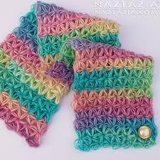 pattern of crochet stitches crochet oh my stars scarf by donna wolfe from naztazia
