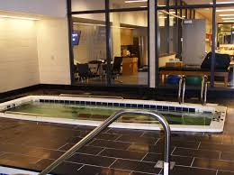 athletic training room design for hydrotherapy success