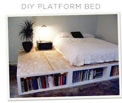 Make Platform Bed Storage by Look Diy Platform Bed With Storage Diy Platform Bed Platform