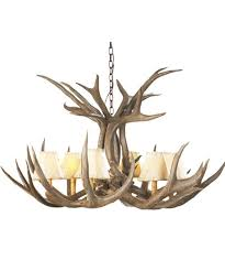 Antler Chandelier Canada Rustic Chandeliers Farmhouse Lodge Cabin Lighting