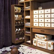 small closet pull out hidden cabinet shoe rack storage for saving small closet
