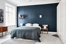 blue bedroom ideas scandinavian bedroom with blue wall interesting beautiful