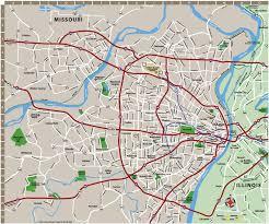 map of st bridgehunter at st louis map roundtripticket me