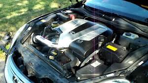 lexus sc300 stock engine 2004 lexus sc430 injen short ram intake stock exhaust youtube