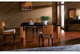 bamboo dining room set marceladick com