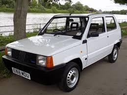 classic chrome fiat panda 750 l 1988 e white