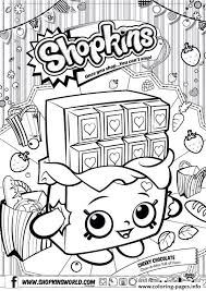shopkins coloring pages videos shopkins cheeky chocolate coloring pages printable