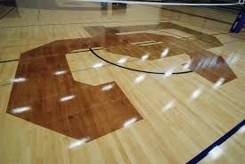 Gym Floor Refinishing Supplies by Douglas County High Stained Gym Floor 4 All City Floors