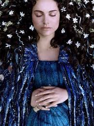 Pregnant Padme Halloween Costume Star Wars Padme Amidala Dinner Dress Feather Caplet