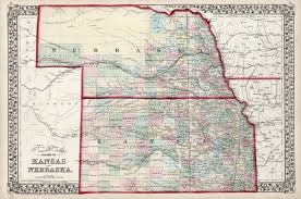 Nebraska On A Map Antique Maps Of Nebraska