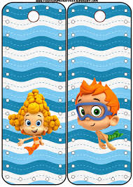 bubble guppies free party printables is it for parties is it