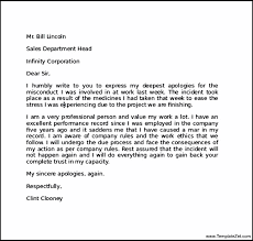 apology letter to customer for mistake