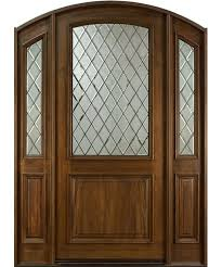 Solid Mahogany Exterior Doors Front Entry Door Design Single With 2 Sidelites Solid Mahogany