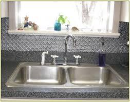 metal kitchen backsplash tiles metal kitchen backsplash home designs idea
