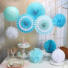 tissue paper decorations bridal shower decorations mint gold birthday