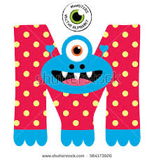 monster letters stock images royalty free images u0026 vectors