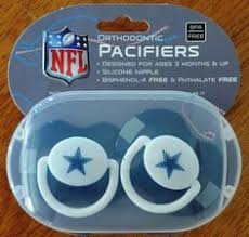 sports images dallas cowboys baby fanatic pacifier set of two