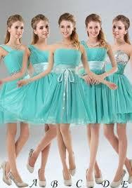 bridesmaid dresses 2015 2015 a line ruching lace up bridesmaid dress in aqua blue us 58 95