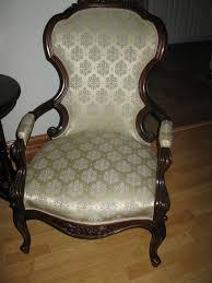 antique hunter civil war era parlor chairs
