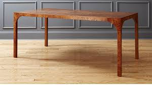 burl wood dining room table burl wood dining table reviews cb2