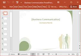templates for business communication business communication powerpoint template