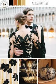 a gilded u0026 glamorous all hallows u0027 eve wedding chic vintage brides