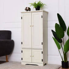 floor cabinet with doors and shelves accent cabinet ebay