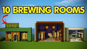 Room Designs by 10 Minecraft Brewing Room Designs Youtube