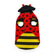 ladybug bumble bee reversible dog costume from bowwowsbest com