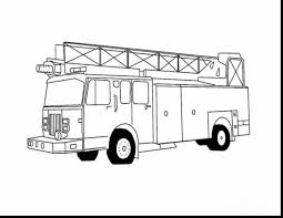 stunning fire truck coloring pages with firetruck coloring page