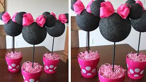 minnie mouse center pieces design ideas minnie mouse centerpiece decorations