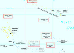 map of us islands and islands united states minor outlying islands