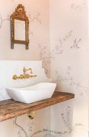 Toile Bathroom Wallpaper by Pin By Richard Corichi On In Her Blue Home Pinterest