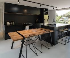 kitchen island carts how to design a kitchen that works for you luxury black stylish kitchen cabinet with granite countertops also small wooden dining table with seating stained