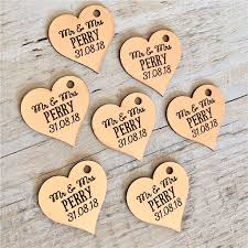 Rustic Save The Dates Rose Gold Silver Or Gold Heart Favors Heart Decor Heart