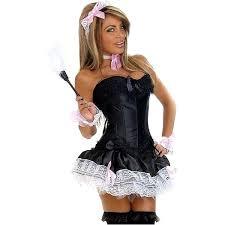 100 french maid halloween costume black u0026 white french