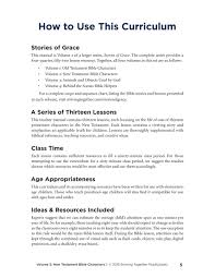 stories of grace new testament bible characters u2014teacher edition