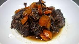 cuisiner une joue de boeuf comment faire cuire de la joue de bœuf confite au vin