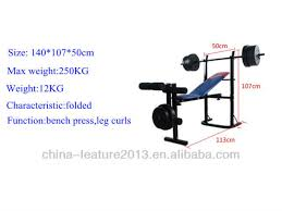 Lift Bench Multifunctional Economical Weight Lift Bench Sj 7839